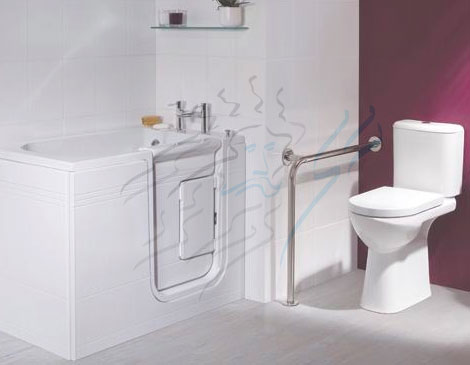 Suppliers of accessible bathrooms, Northwich, Cheshire